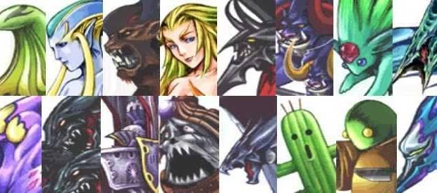 Final Fantasy VIII Remastered - Plantel de GF