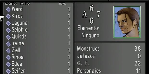 Cómo conseguir las mejores cartas en Final Fantasy VIII