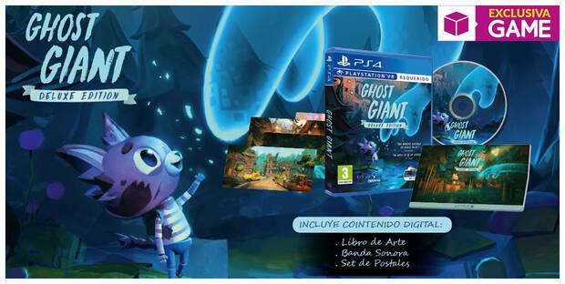 GAME detalla la Deluxe Edition de Ghost Giant, que ya se puede reservar Imagen 2