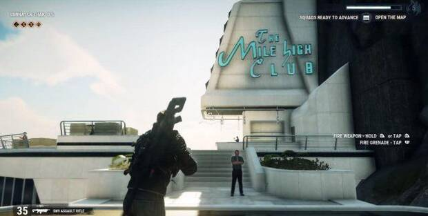 The Mile High Club en Just Cause 4