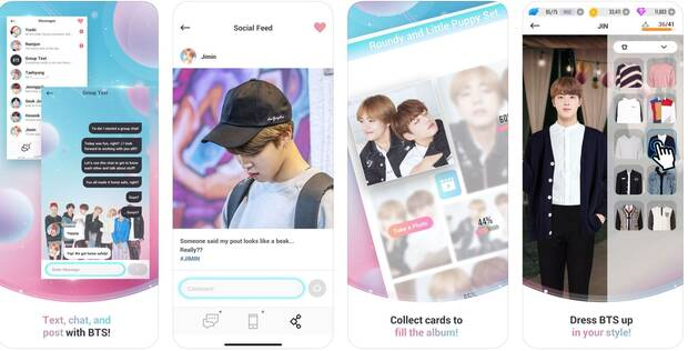 Ya disponible BTS World, el juego de la popular boy band coreana Imagen 2