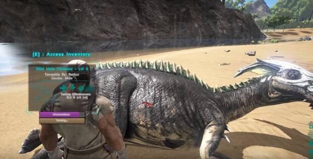 tamear dinosaurios ARK