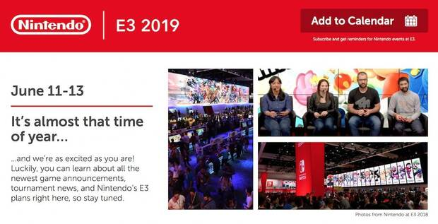 Nintendo presenta algunas de sus actividades y torneos para el E3 2019 Imagen 2