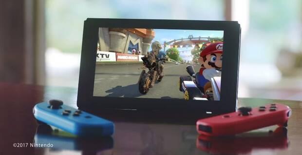 Mario Kart 8 Deluxe en Nintendo Switch.