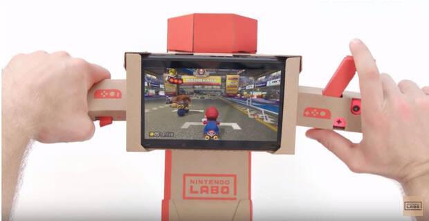 Mario Kart 8 Deluxe ya es compatible con Nintendo Labo Imagen 2