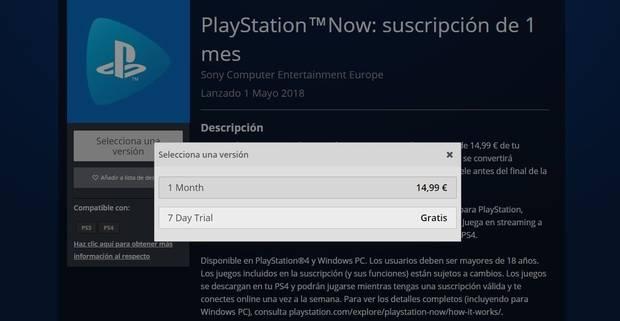 Cómo probar gratis PlayStation Now Imagen 2
