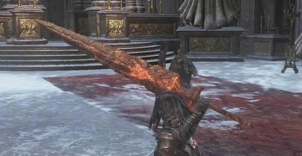 Dark Souls 3 - Arma de jefe