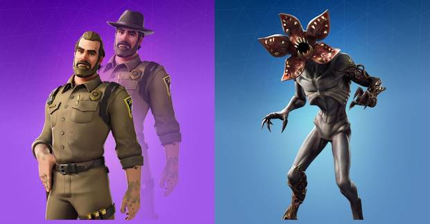 Fortnite: Ya disponibles las skins de Stranger Things - Vandal