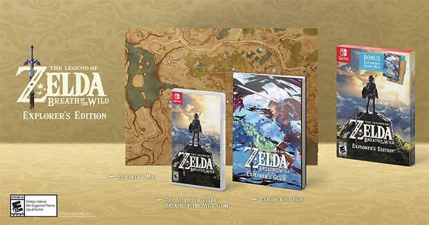 Zelda: BOTW muestra su nueva edición 'Explorer Edition' Imagen 2
