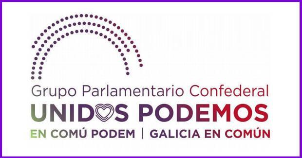 Logo del Grupo Parlamentario Unidas Podemos.