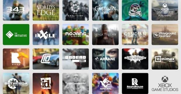 Lista de estudios de Xbox Game Studios.