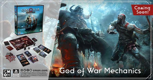 Así es God of War: el juego de cartas, el juego de mesa de EDGE basado en el éxito de PS4 Imagen 2