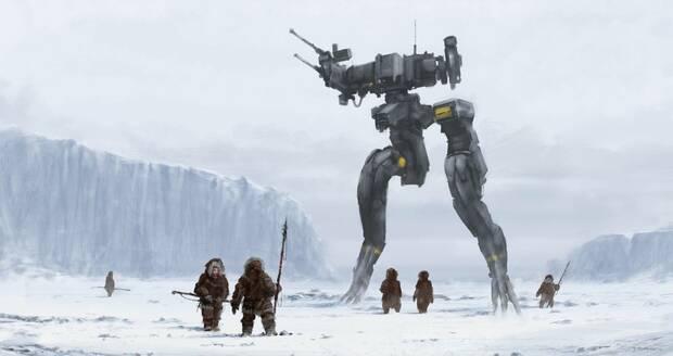 Estas son todas las ilustraciones de la película de Metal Gear Solid Imagen 2