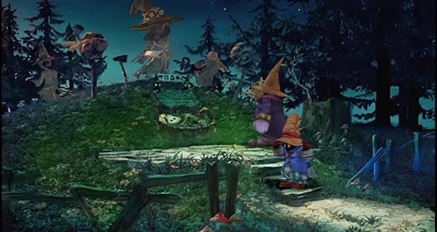 Captura de Final Fantasy IX con Moguri Mod.
