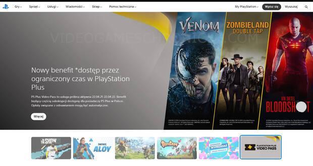 PlayStation Plus Video Pass Polonia