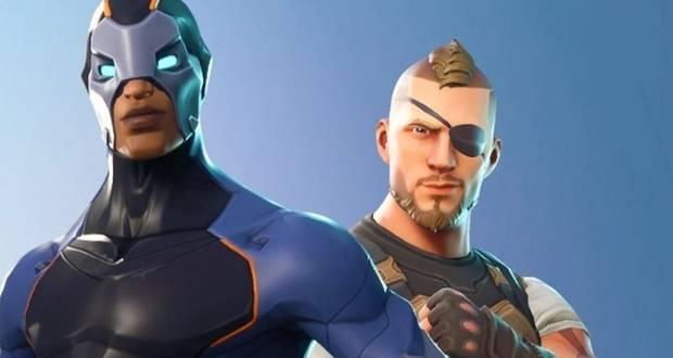 Fortnite Battle Royale, Temporada 4, Trajes de superhéroe, Skins