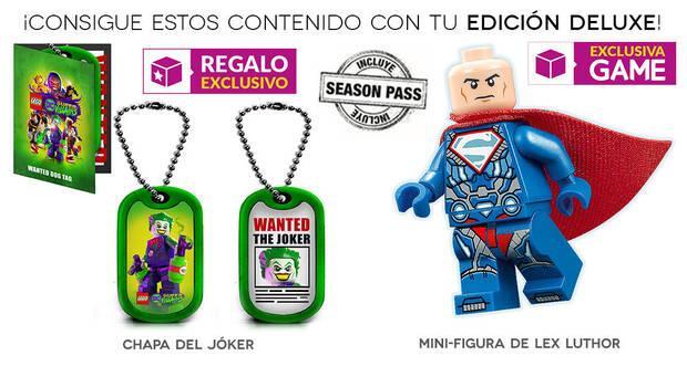 GAME detalla su edición exclusiva e incentivo para LEGO DC Súper-Villanos Imagen 2