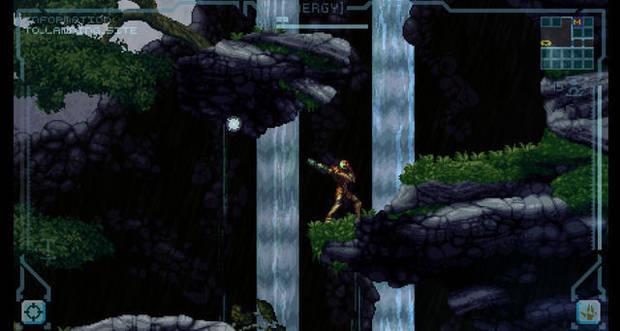 Pantalla de Prime 2D, el juego fan de Metroid Prime.