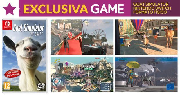 GAME presenta la exclusiva versión física de Goat Simulator: the GOATY Imagen 2