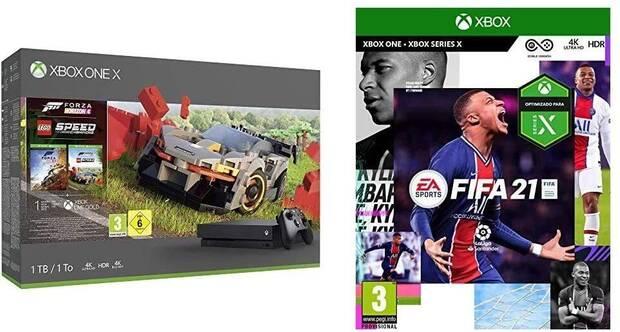 Compra cualquier bundle de Xbox y de regalo te llevas FIFA 21 Imagen 2