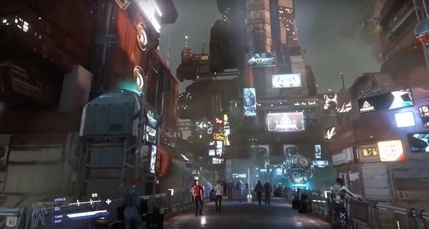 Star Citizen muestra sus enormes ciudades futuristas  Imagen 2