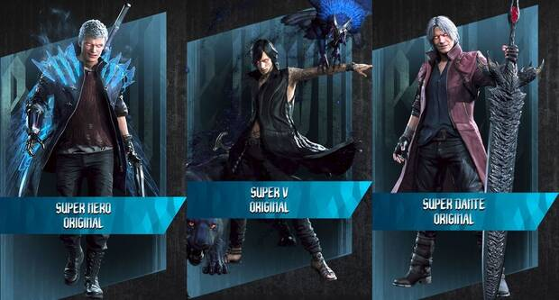 Devil May Cry 5 - Trajes DT infinito