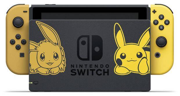Anunciada la edición especial Pikachu & Eevee de Nintendo Switch Imagen 2