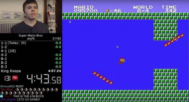 Nuevo récord mundial de velocidad con Super Mario Bros. Imagen 2