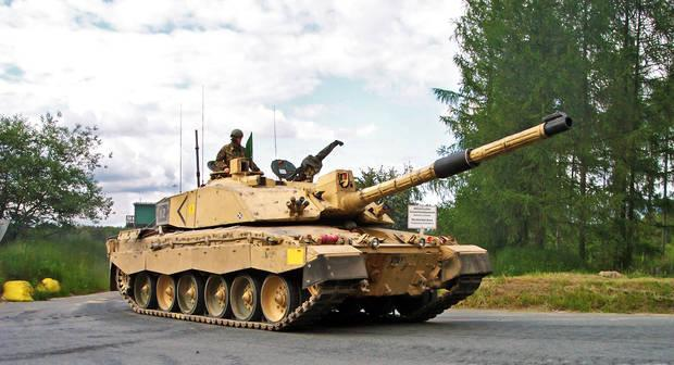 Challenger 2 tanque real