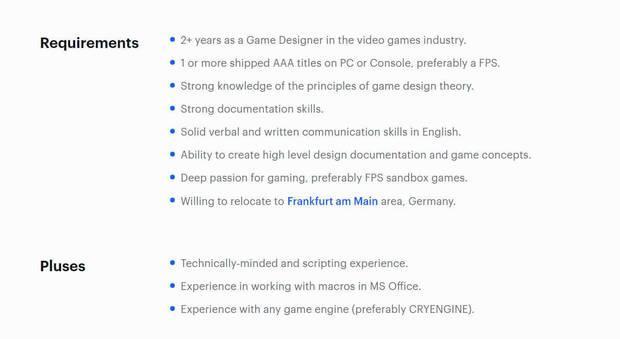 Crytek ofertas Crysis 4