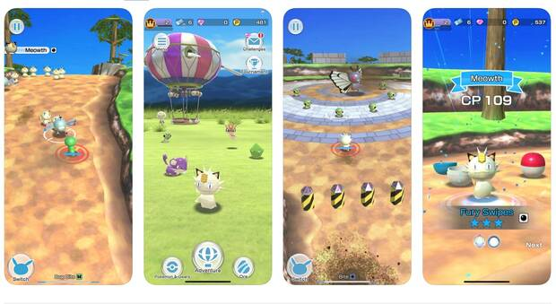 Pokémon Rumble Rush ya disponible en dispositivos iOS Imagen 2