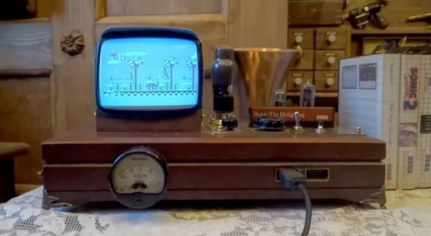 Diseñan una SEGA Master System II al más puro estilo Steampunk Imagen 2