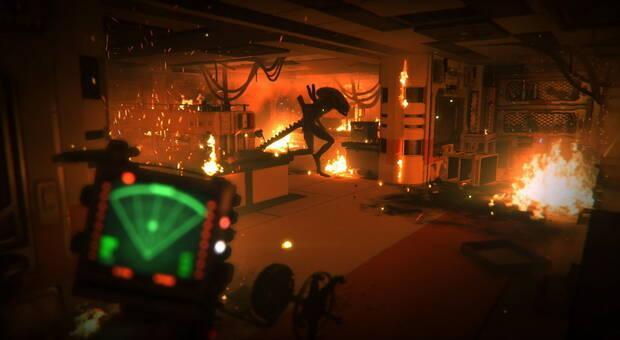Captura de Alien: Isolation.