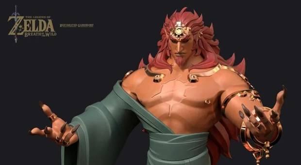 Imaginan el aspecto normal de Ganon en Zelda: Breath of the Wild Imagen 4
