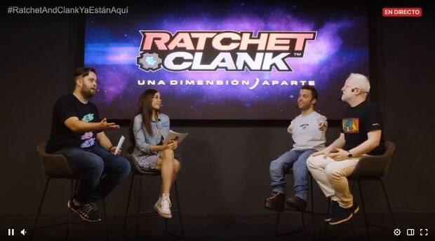 PlayStation recibe Ratchet & Clank: Una Dimensi