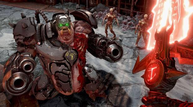 Image de DOOM Eternal, disponible le 8 décembre sur Switch.