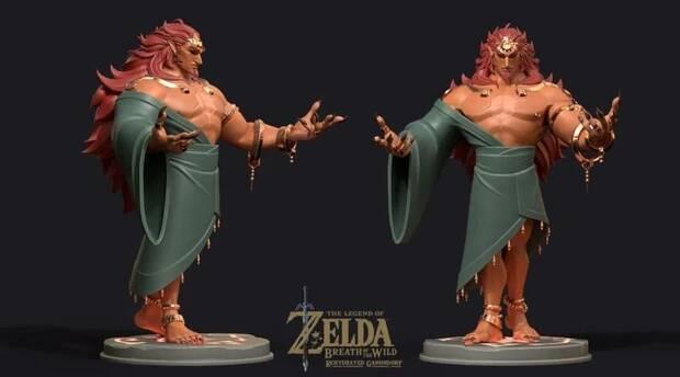 Imaginan el aspecto normal de Ganon en Zelda: Breath of the Wild Imagen 5