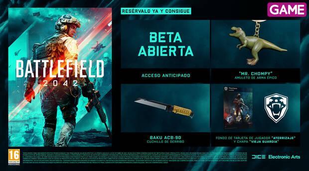 Battlefield 2042 y sus incentivos por la reserva