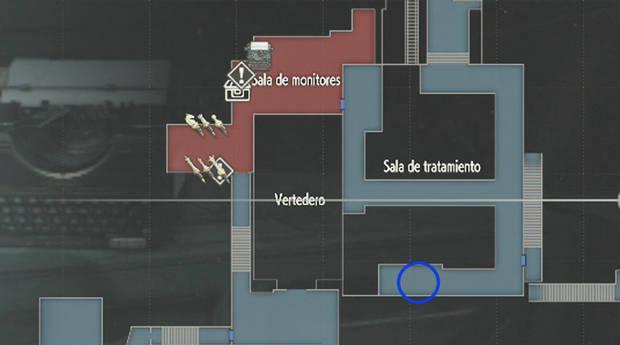 Localización de la caja fuerte en las alcantarillas en Resident Evil 2 remake