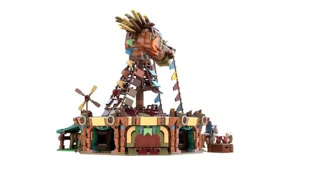Zelda: Breath of the Wild y LEGO se fusionan en esta genial figura Imagen 4