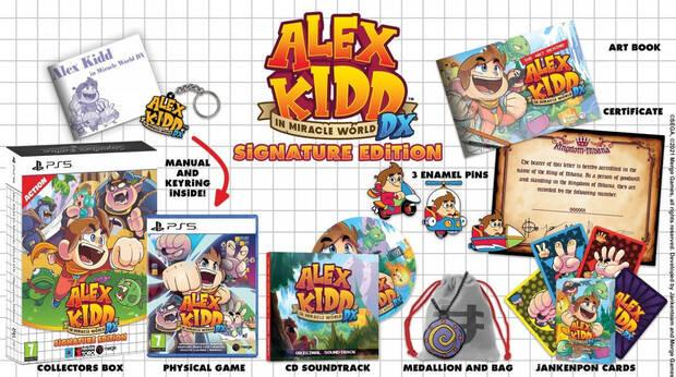 Signature Edition de Alex Kidd in Miracle World DX.