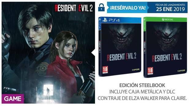 GAME detalla su merchandising e incentivos para Resident Evil 2 Remake Imagen 4