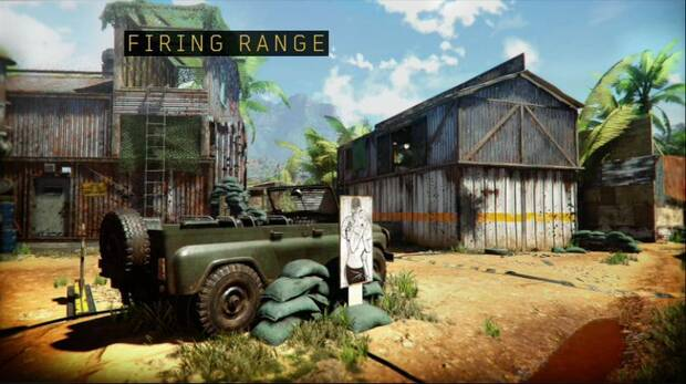 Call of Duty Black Ops 4: Firing range