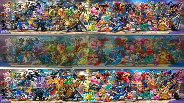 Rumor: La plantilla de Super Smash Bros. Ultimate se habría filtrado entera Imagen 2