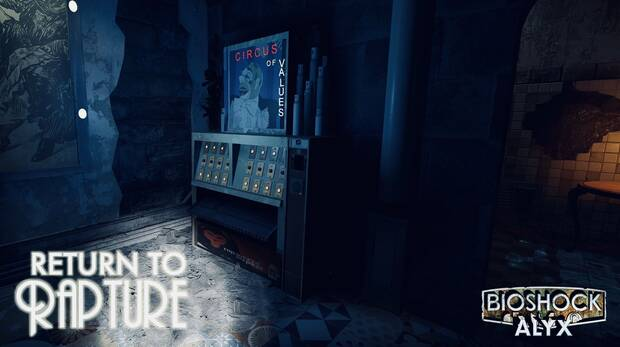 Un nuevo mod de Half-Life: Alyx nos lleva a visitar Rapture Imagen 2