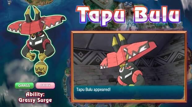 Tapu bulu en Pokémon Sol y Luna