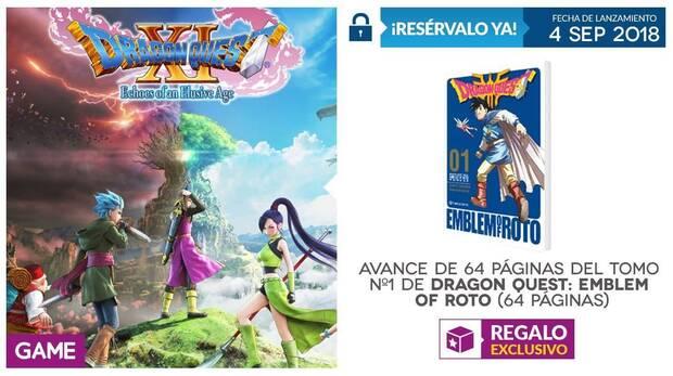 GAME detalla su incentivo por reserva para Dragon Quest XI Imagen 2