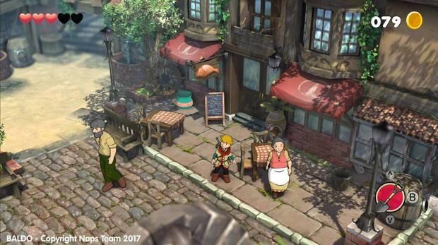 Capture of Baldo's gameplay.