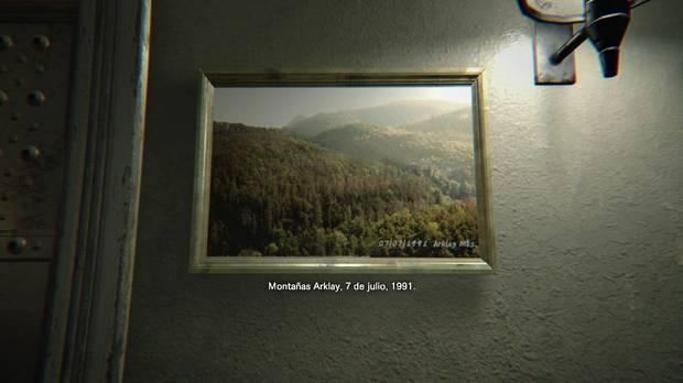Resident Evil 7 Easter Egg Montañas Arklay