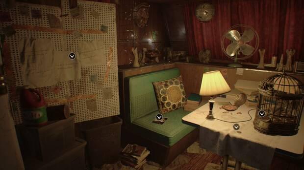 Documento 14 en Patio de Resident Evil 7
